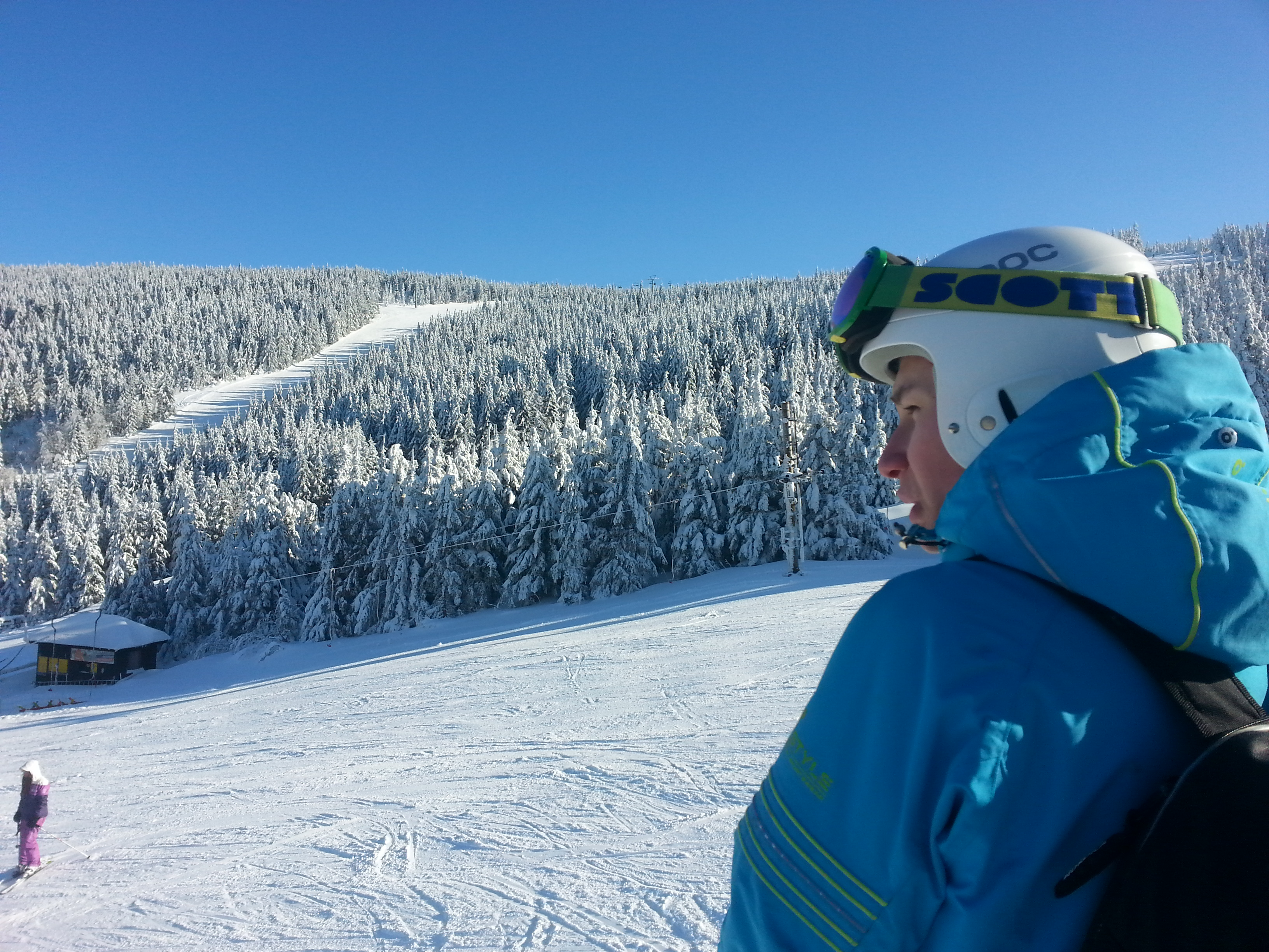 Skvělé lyžařské podmínky v Jeseníkách