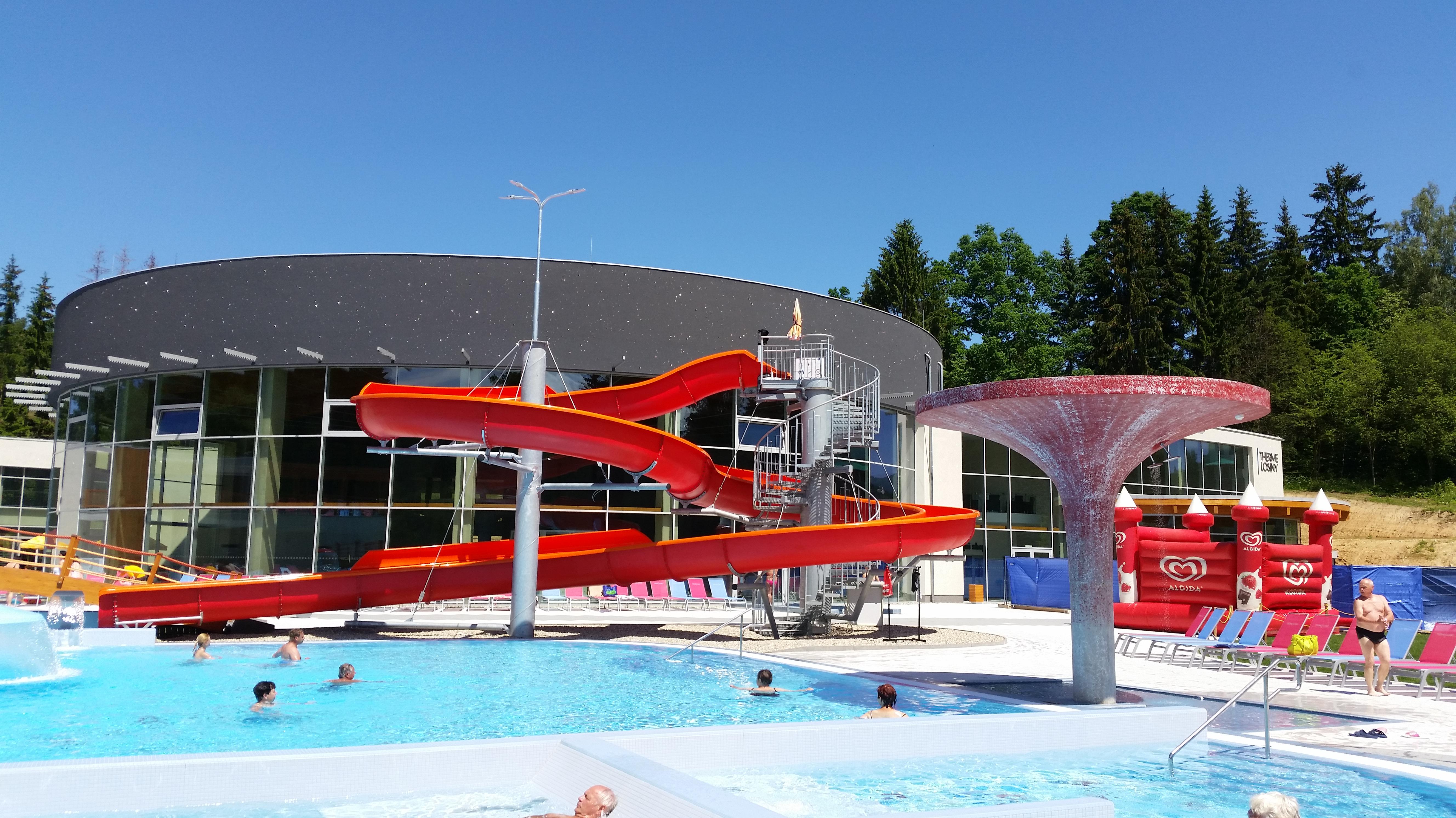 New Thermal  Park in Velké Losiny.