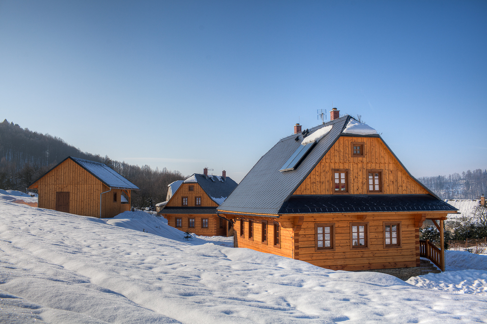 January Ski getaways in Jeseníky log cabins