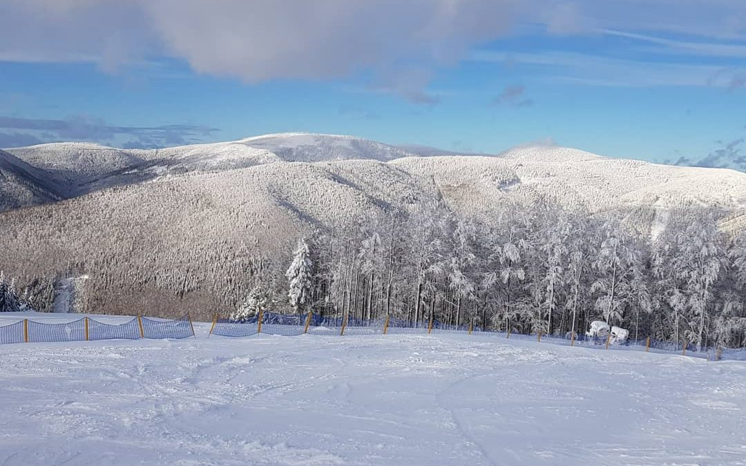 Na Červenohorském sedle se lyžuje